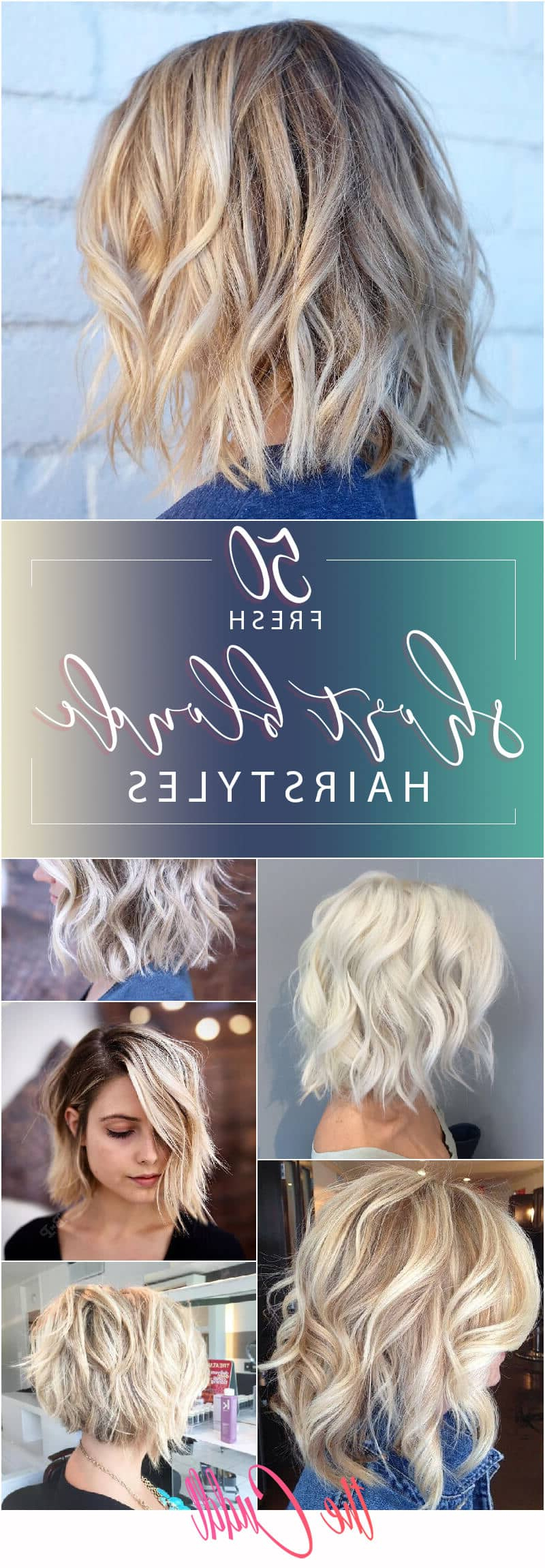 50 Fresh Short Blonde Hair Ideas To Update Your Style In 2019 Intended For Most Up To Date Blonde Textured Haircuts With Angled Layers (Gallery 11 of 20)