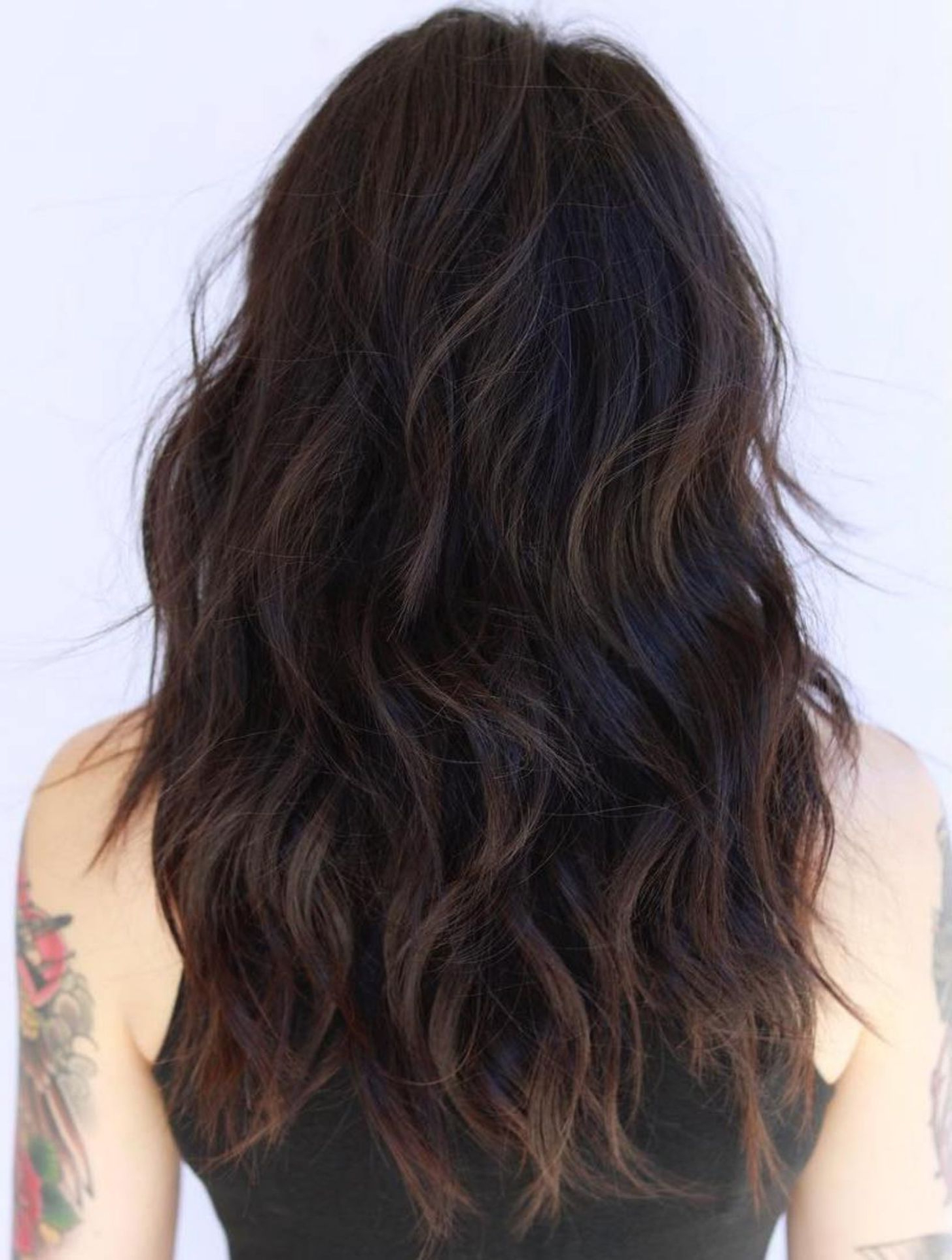 50 Lovely Long Shag Haircuts For Effortless Stylish Looks In 2019 Within Fashionable Bedhead Layers For Long Hairstyles (View 7 of 20)