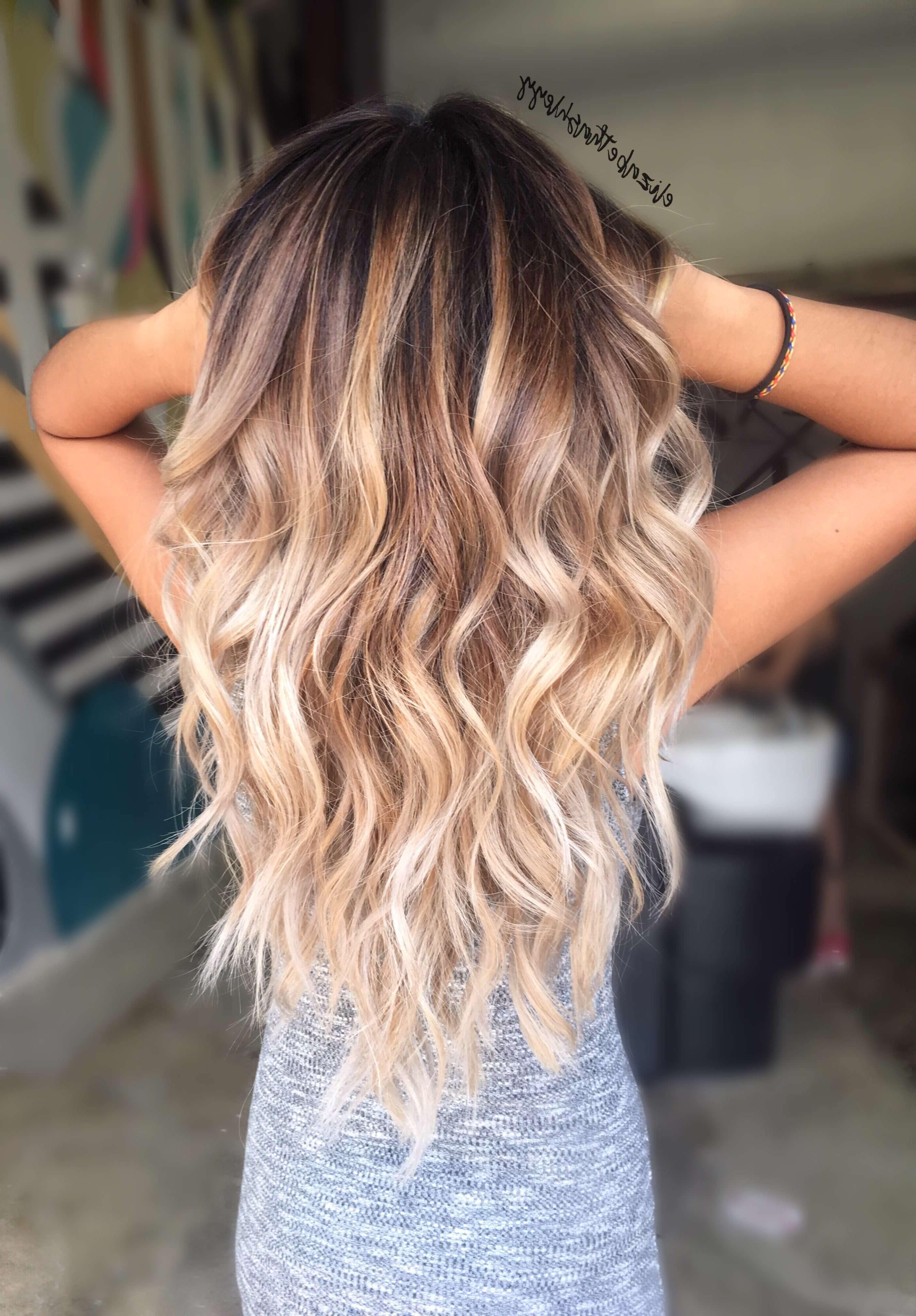 50 Proofs That Anyone Can Pull Off The Blond Ombre Hairstyle With Regard To Best And Newest Long Voluminous Ombre Hairstyles With Layers (Gallery 8 of 20)