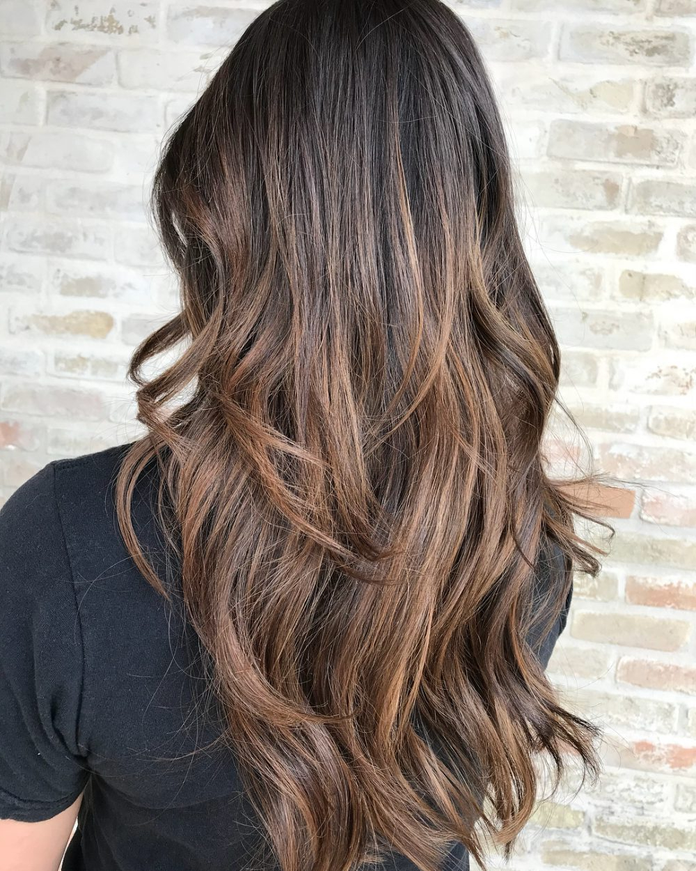 55 Perfect Hairstyles For Thick Hair (Popular For 2019) Inside Most Recent Balayage Hairstyles For Long Layers (Gallery 9 of 20)