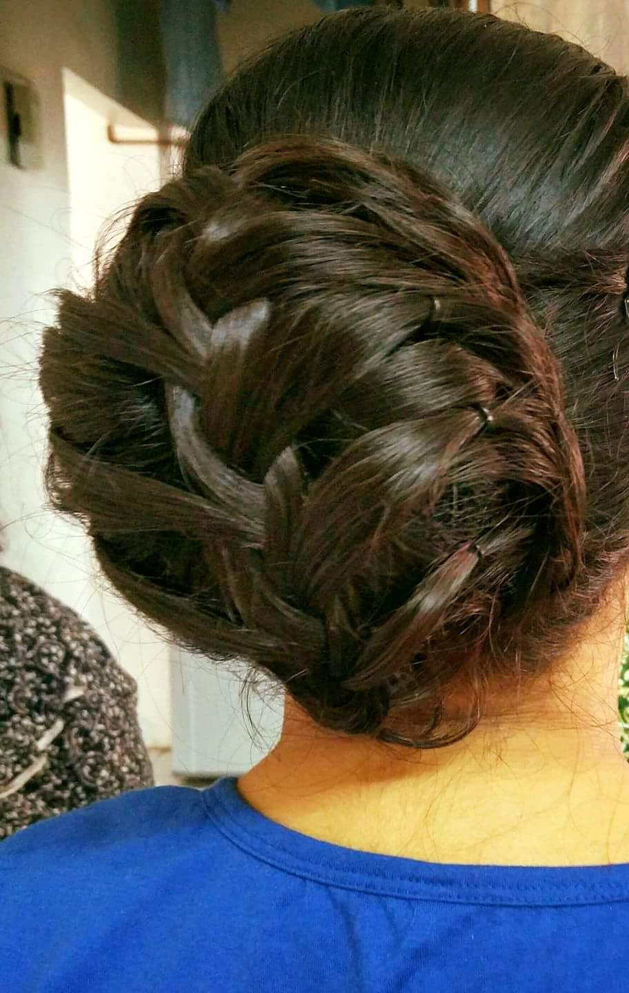 65 Super Stylish Braided Bun Hairstyle To Leave Behind Some Feminine In Recent Diagonal Braid And Loose Bun Hairstyles For Prom (View 4 of 20)