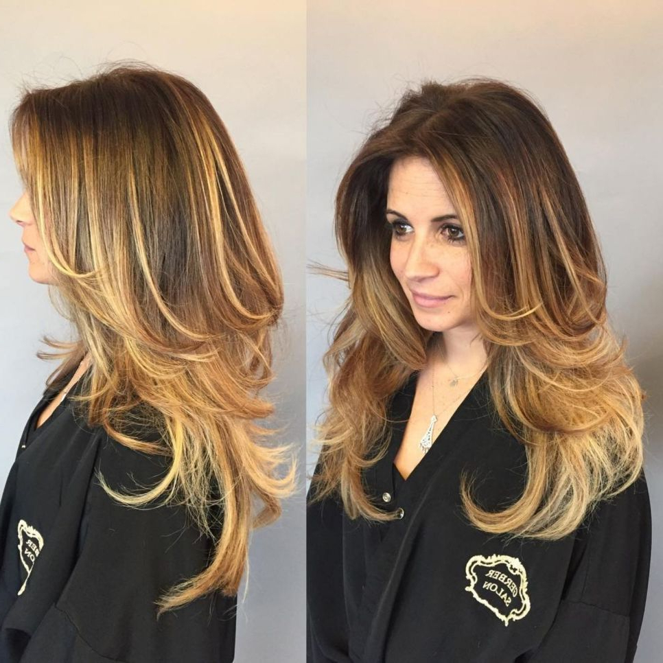 80 Cute Layered Hairstyles And Cuts For Long Hair In  (View 5 of 20)