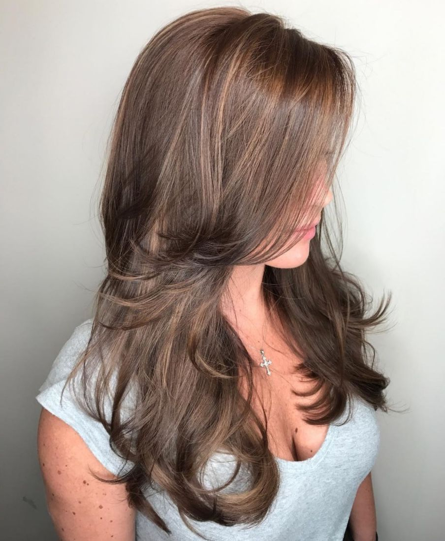 80 Cute Layered Hairstyles And Cuts For Long Hair In 2019 (Gallery 1 of 20)