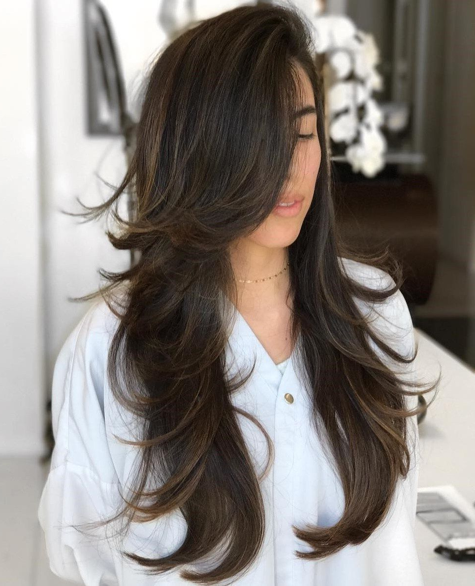 80 Cute Layered Hairstyles And Cuts For Long Hair In 2019 (Gallery 6 of 20)