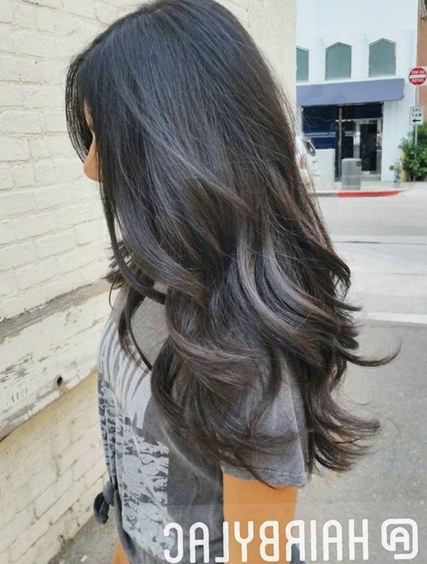 All About Hair Regarding Best And Newest Loose Layers Hairstyles With Silver Highlights (View 7 of 20)