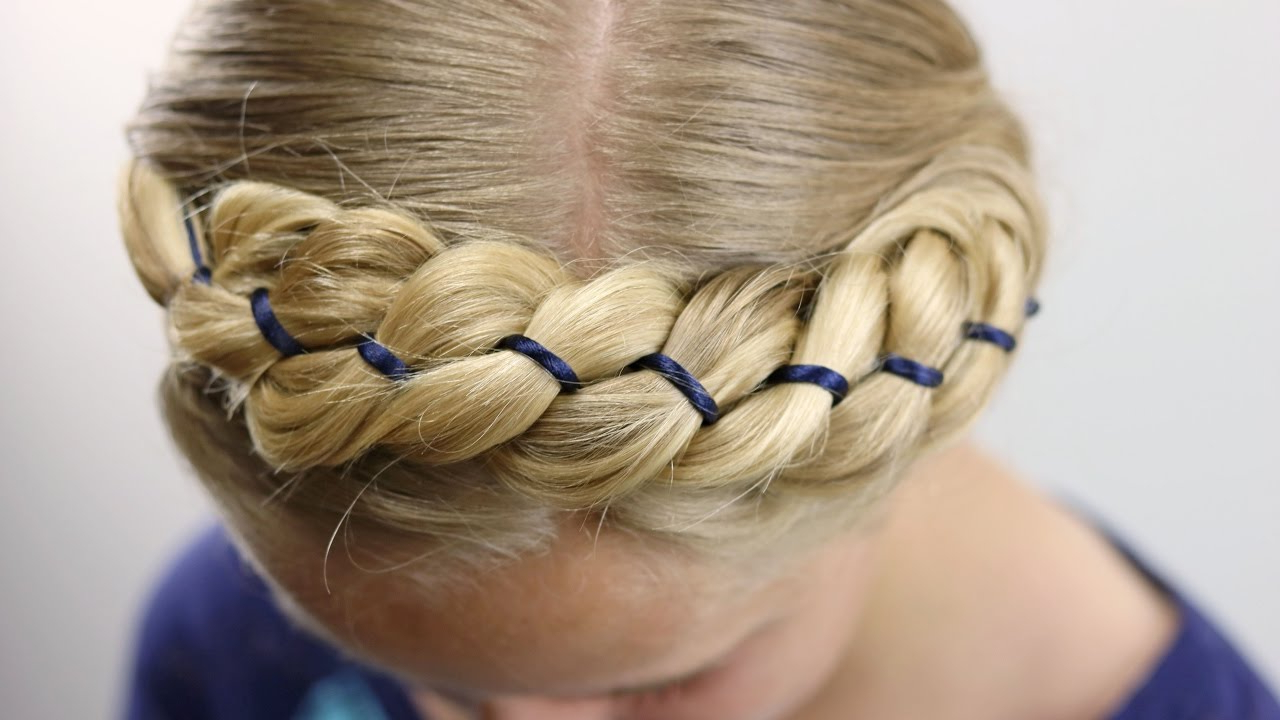 Babesinhairland – Youtube With Most Current Tangled Braided Crown Prom Hairstyles (View 6 of 20)