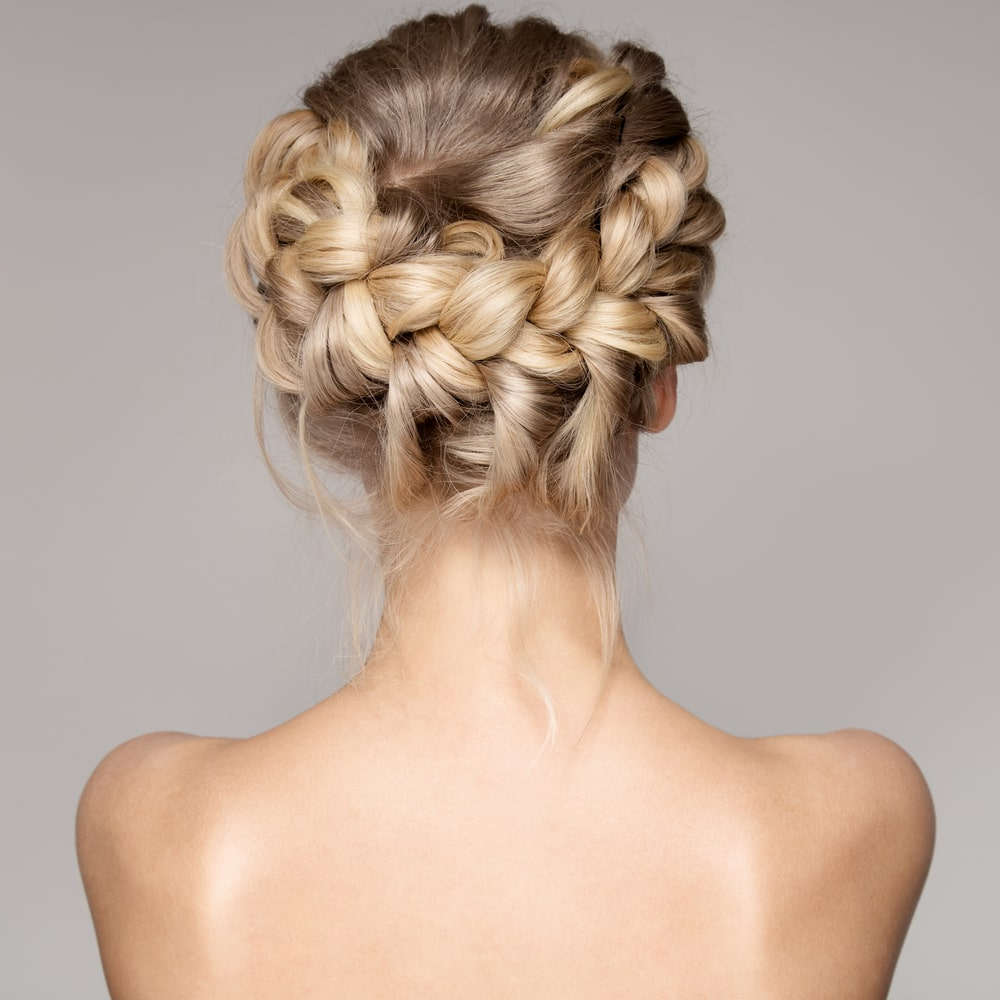 Best And Newest Asymmetrical Knotted Prom Updos Within 55 Popular Prom Hairstyles For Women (Photos) (View 9 of 20)