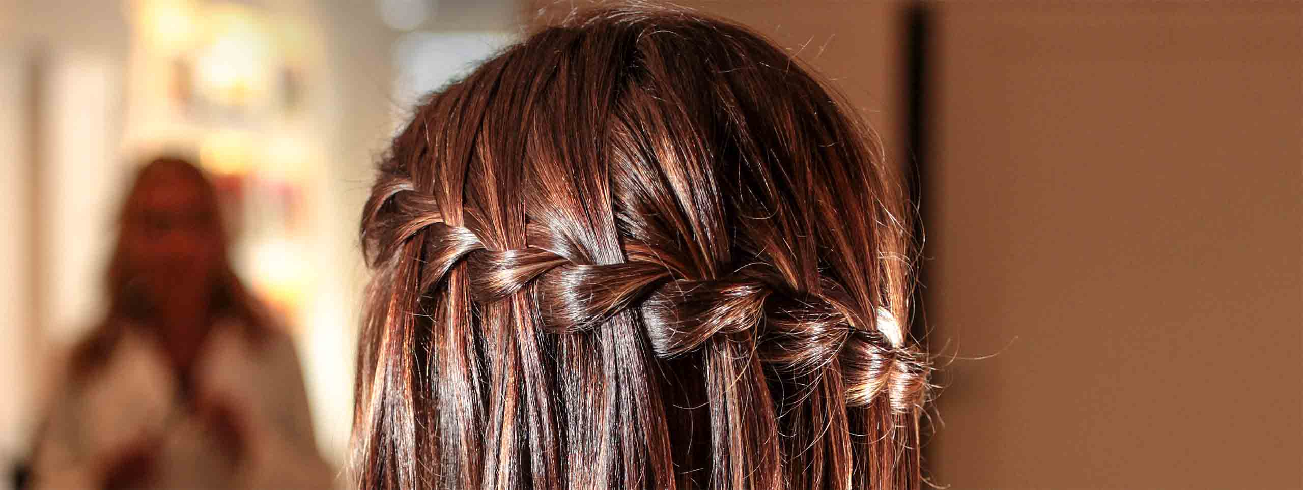Best And Newest Chic Waterfall Braid Prom Updos In Create Stunning, Romantic Waterfall Braids (View 7 of 20)