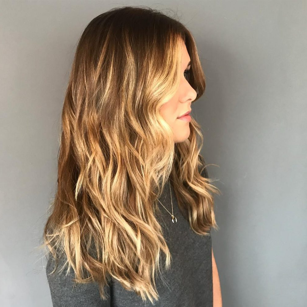 Best And Newest Choppy Dimensional Layers For Balayage Long Hairstyles In Top 22 Choppy Hairstyles You'll See In  (View 7 of 20)