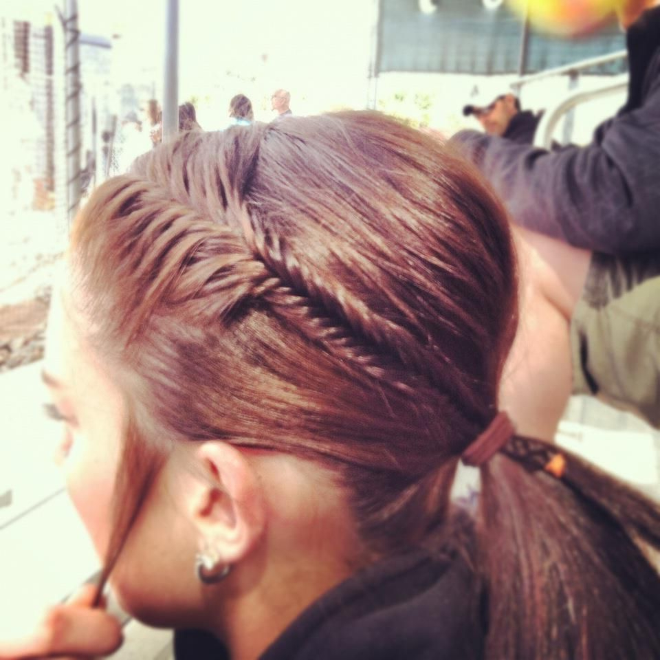 Best And Newest Fishtailed Snail Bun Prom Hairstyles In Chelsea, Lets Braid Your Hair Like This At Least Once For Softball (View 8 of 20)