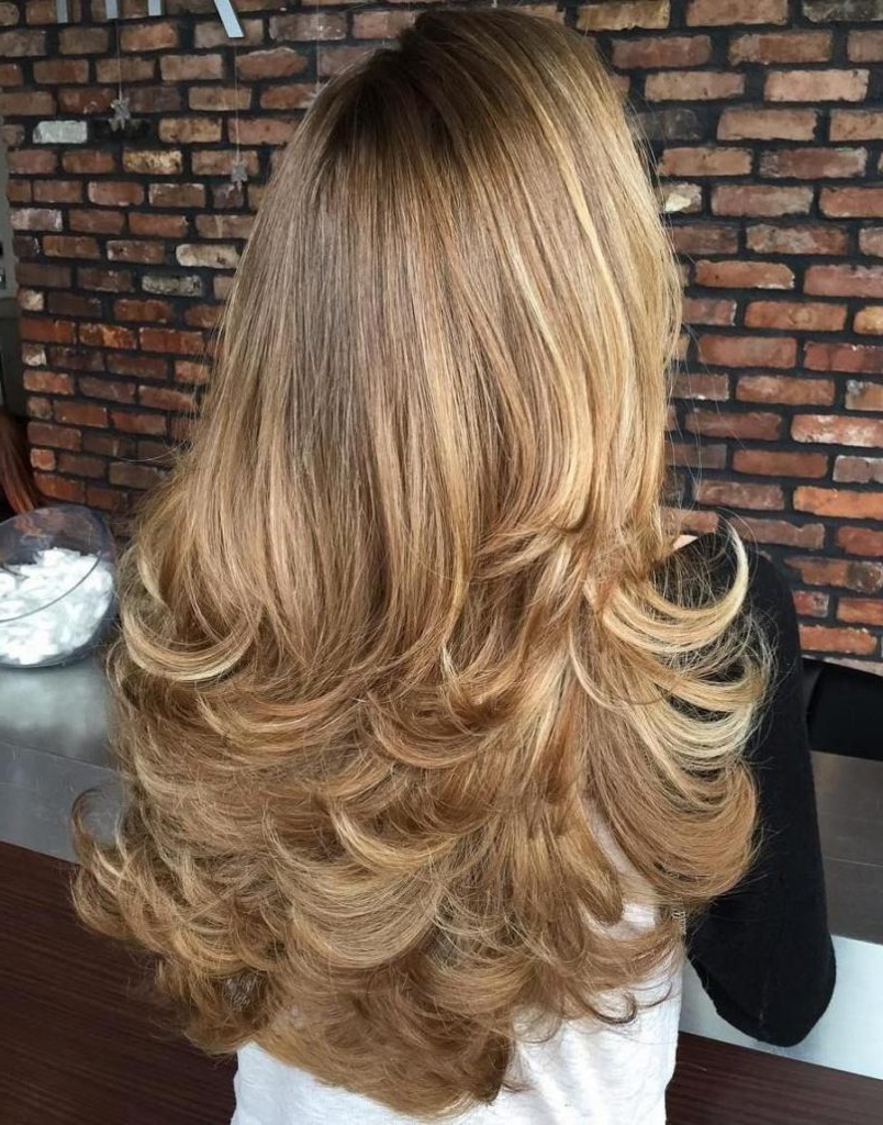 Best And Newest Ponytail Layered Long Hairstyles Regarding Beautifully Layered Hairstyles For Long Hair – Women Hair Cuts (View 5 of 20)