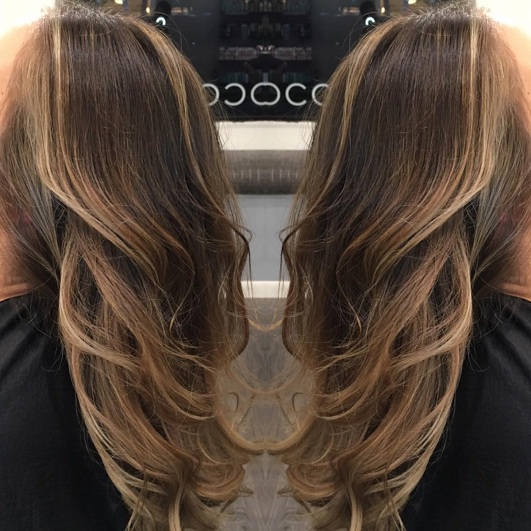 Best And Newest Straight And Chic Long Layers Hairstyles Throughout Be The Centre Of Attraction With 25 Stylish Layered Hairstyles For (View 11 of 20)