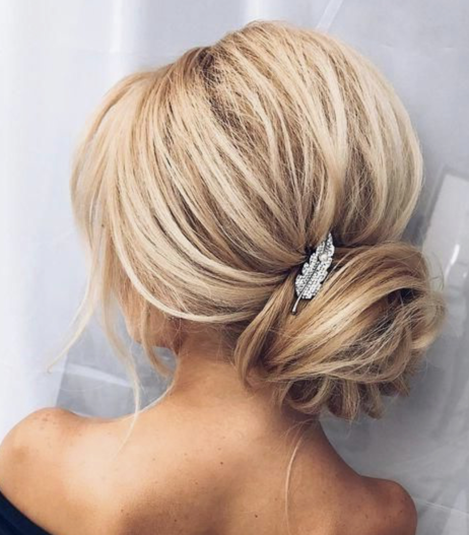 Best And Newest Tousled Prom Updos For Long Hair Inside Tousled Updo – M2Prom (View 19 of 20)