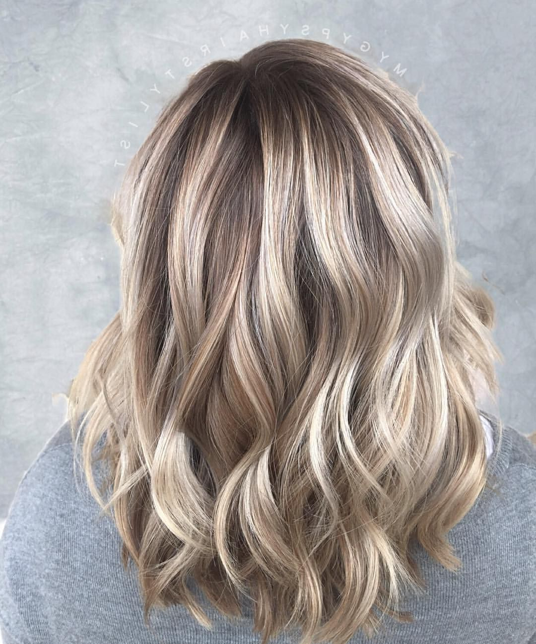 Blonde Balayage/ Shoulder Length Hair/ Dimensional Blonde/ Blonde Pertaining To Most Current Choppy Dimensional Layers For Balayage Long Hairstyles (View 9 of 20)