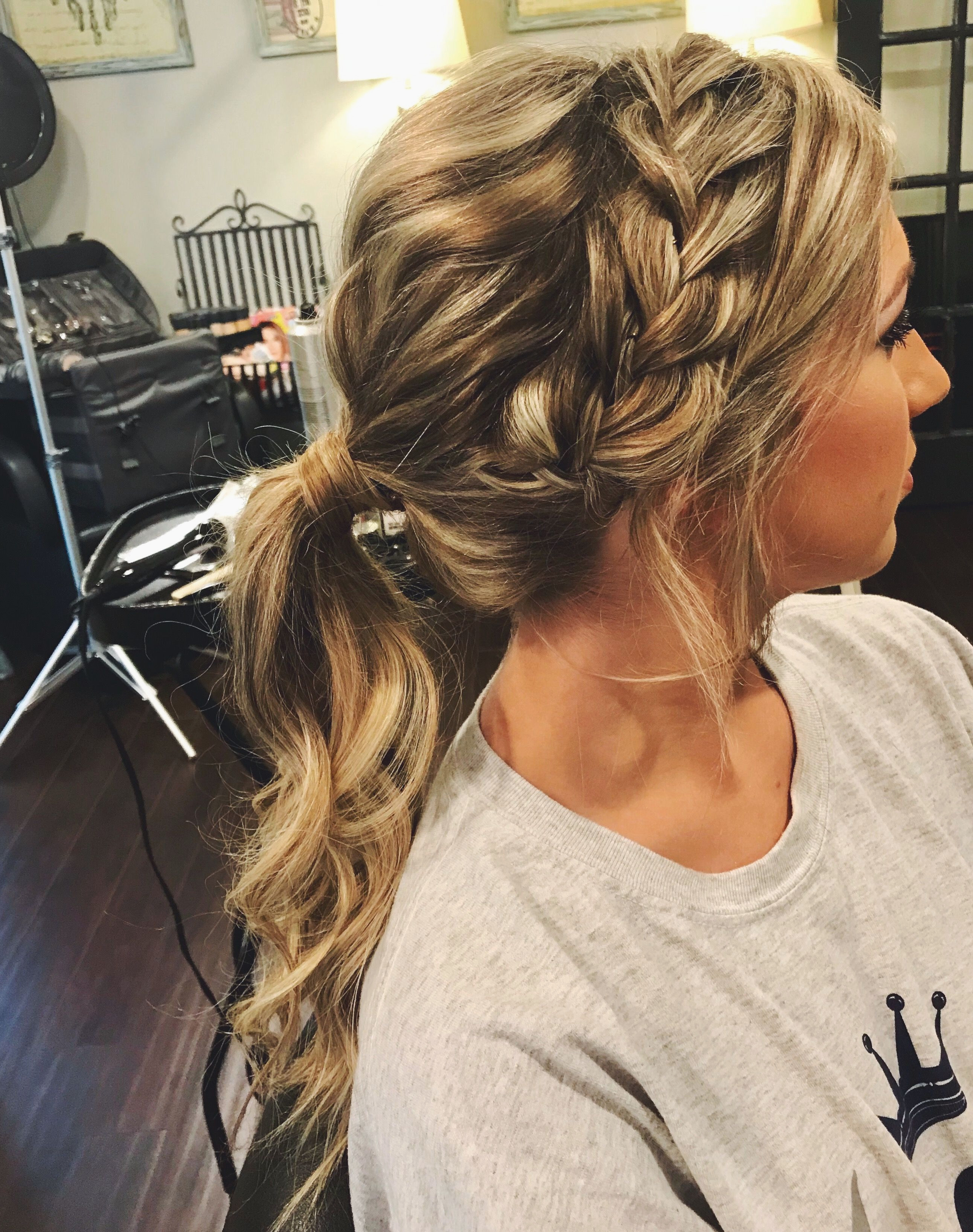 Braid Prom Hairstyles Lovely Lovely Twist Hairstyles For Long Hair Throughout Most Popular Twisting Braided Prom Updos (View 6 of 20)