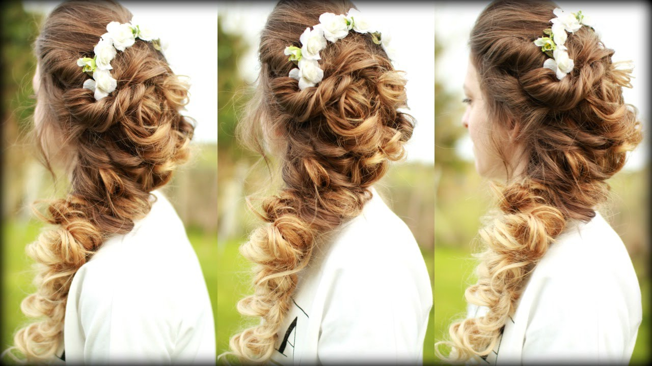 Featured Photo of Long Cascading Curls Prom Hairstyles