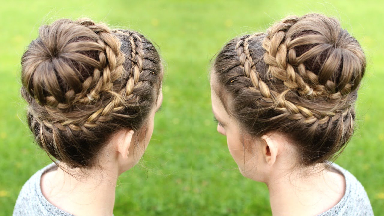 Braidsandstyles12 – Youtube Pertaining To Newest Double Crown Braid Prom Hairstyles (View 4 of 20)