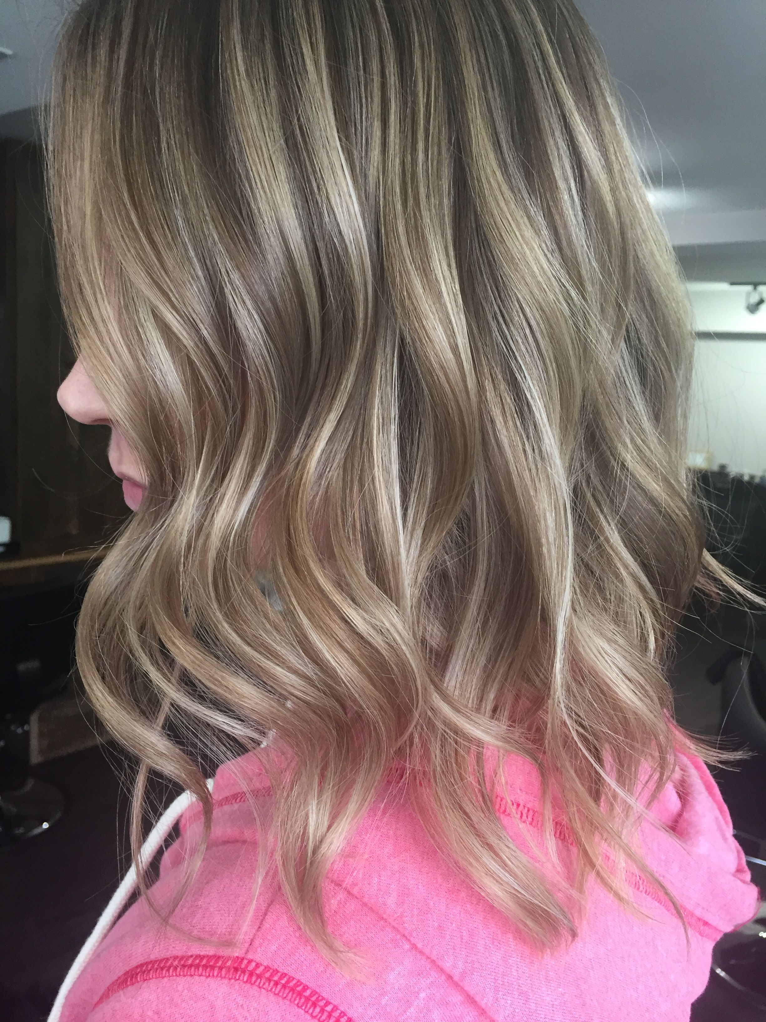 Bronde Sandy Sand Slate Ash Cool Hair Medium Dark Light Blonde Inside Widely Used Long Dark Hairstyles With Blonde Contour Balayage (View 4 of 20)