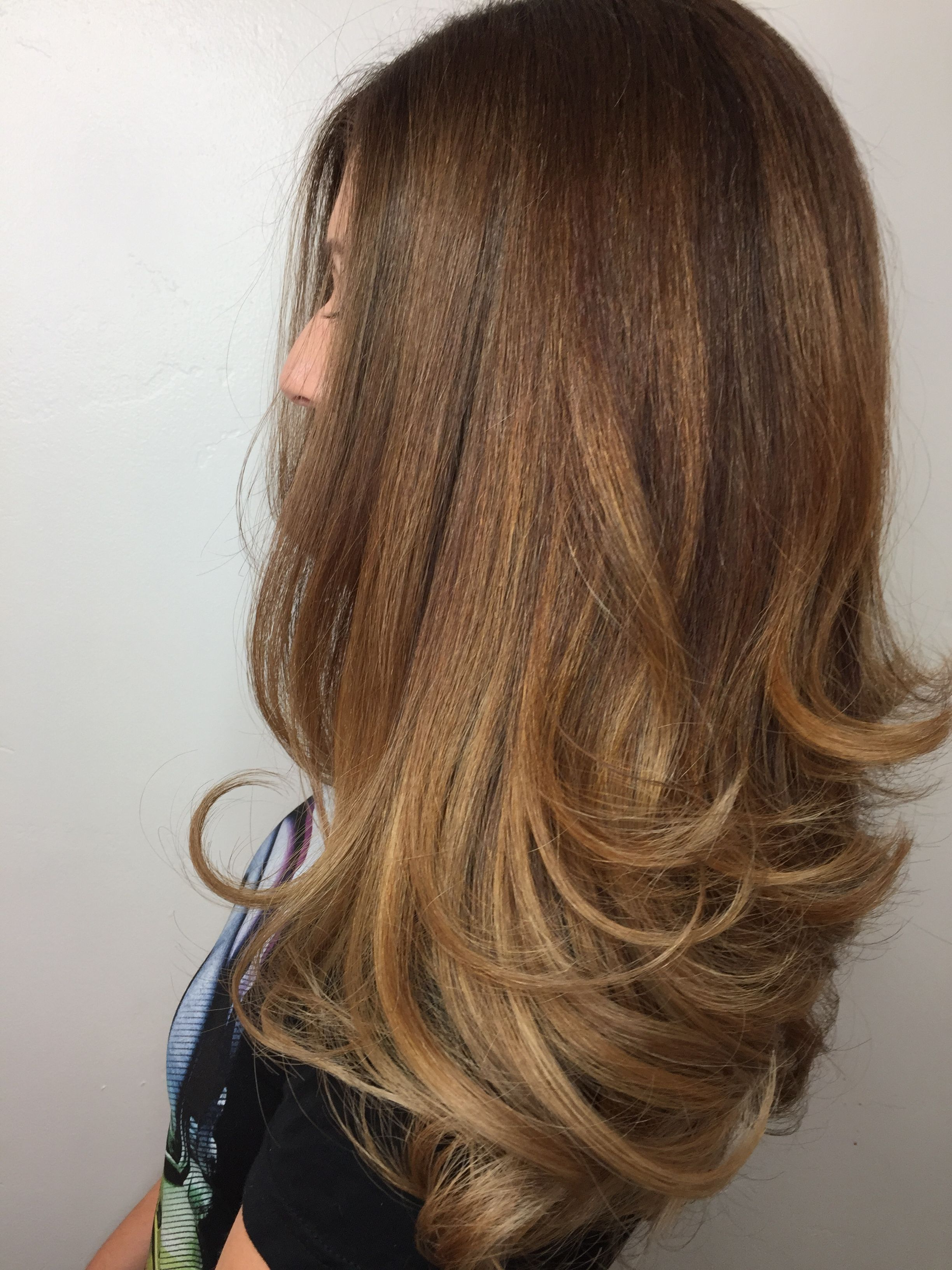 Brunette Pertaining To Most Popular Balayage Hairstyles For Long Layers (View 11 of 20)