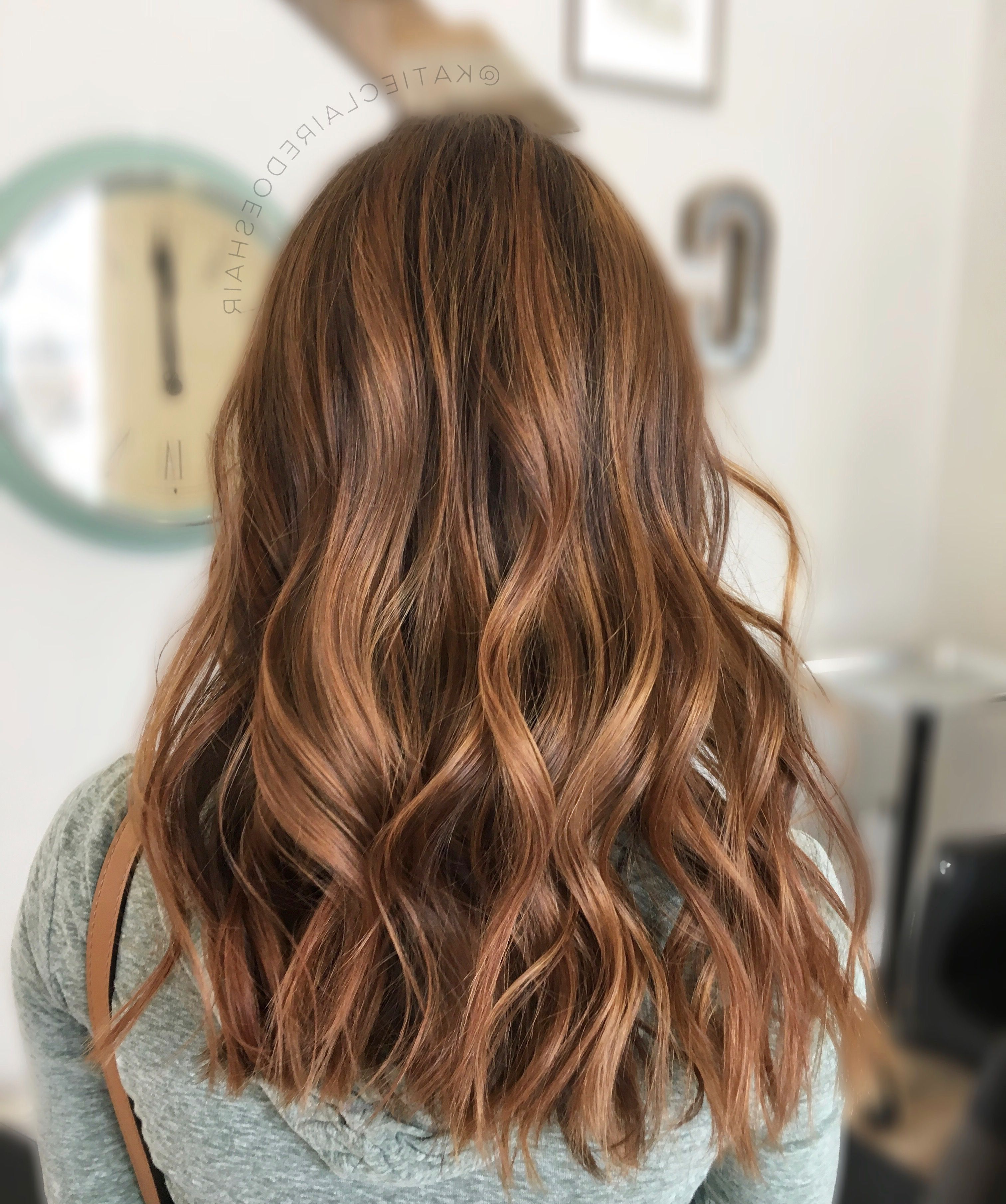 Featured Photo of Warm Toned Brown Hairstyles With Caramel Balayage