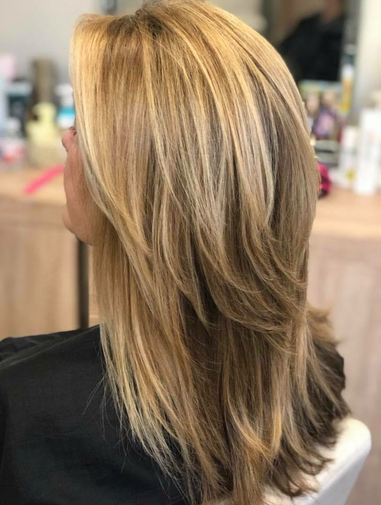 Featured Photo of Long Brown Shag Hairstyles With Blonde Highlights