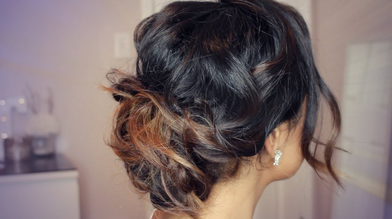 Chic Tousled Updo Hair Tutorial (View 13 of 20)