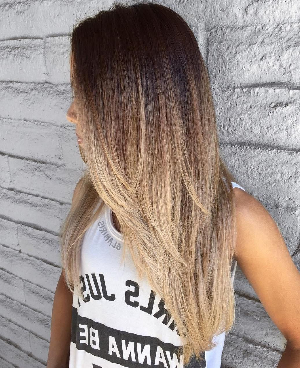 Featured Photo of Long Layered Ombre Hairstyles