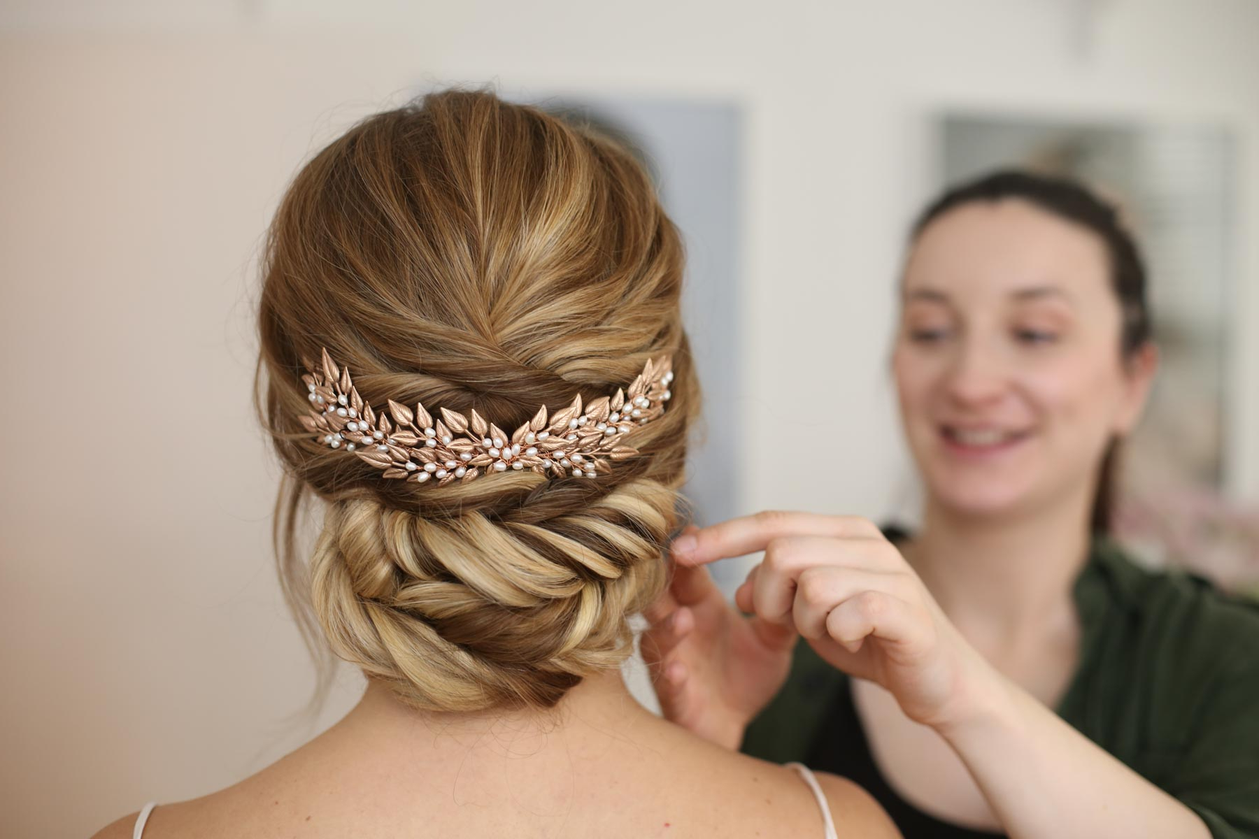 Current Side Bun Prom Hairstyles With Jewelled Barrettes Throughout What Are The Different Kinds Of Bridal Updos? – Flickl (View 6 of 20)