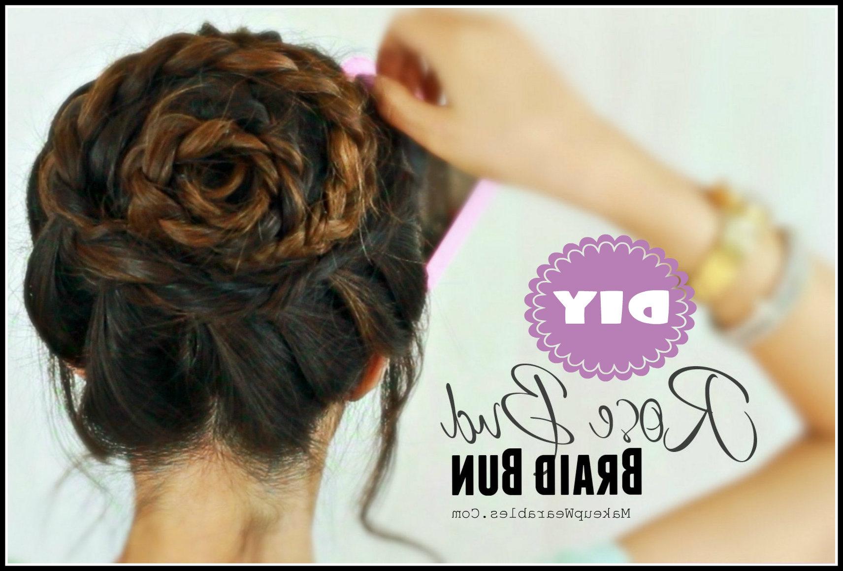 Cute Updo Hairstyles Hair Tutorial Video (View 9 of 20)