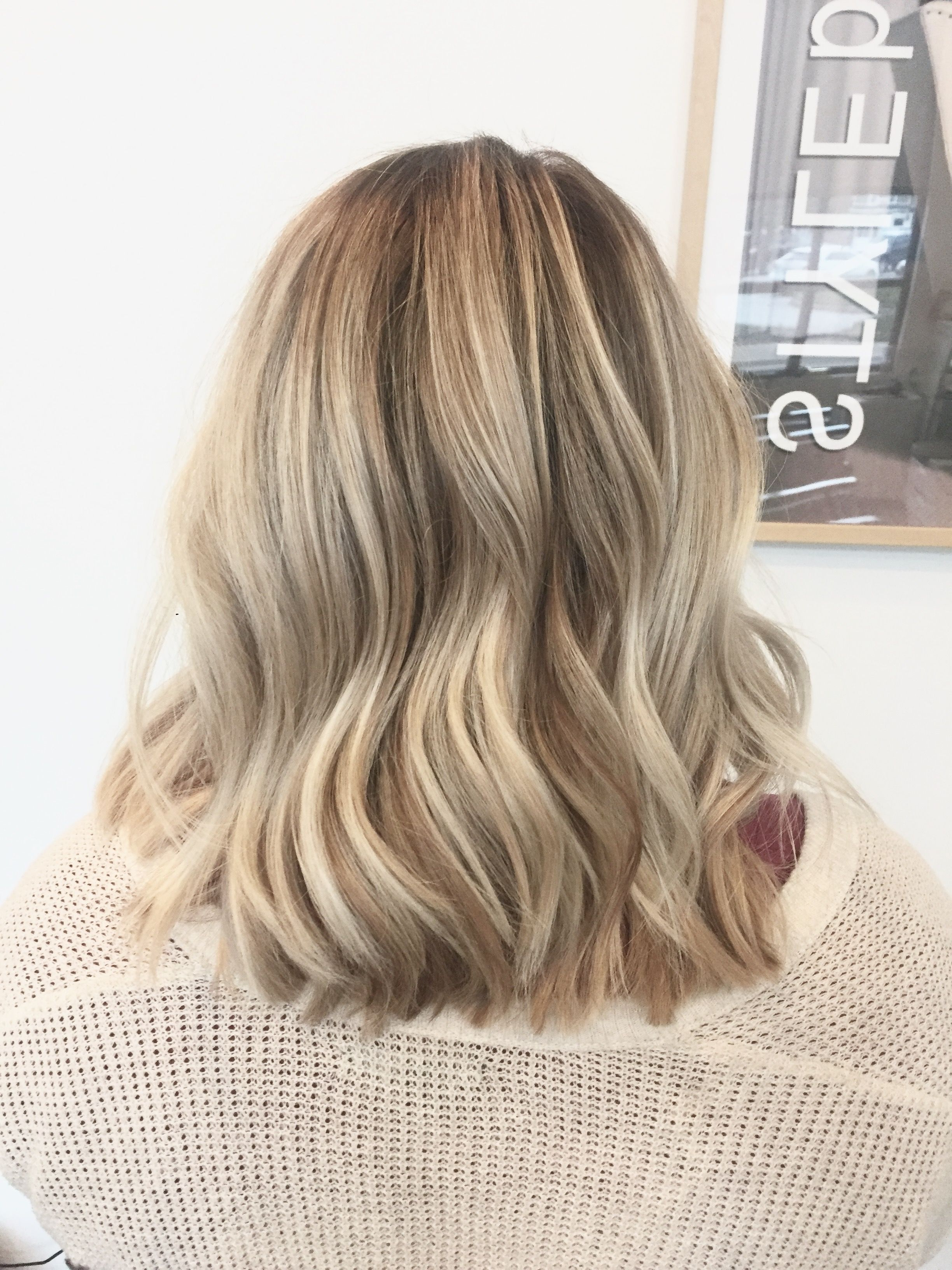 Dimensional Blonde. Balayage. Bright Blonde. Lived In Color Regarding Fashionable Choppy Dimensional Layers For Balayage Long Hairstyles (Gallery 16 of 20)
