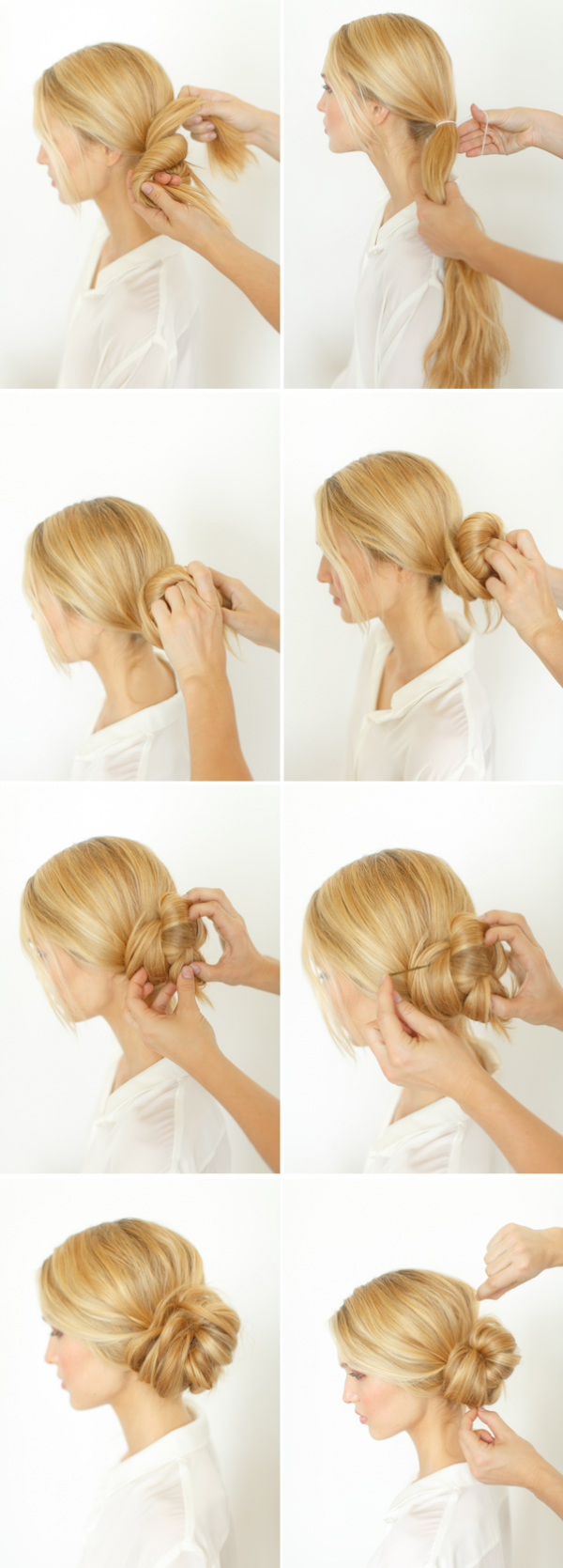 Diy Knotted Bun Wedding Hairstyle (Gallery 17 of 20)