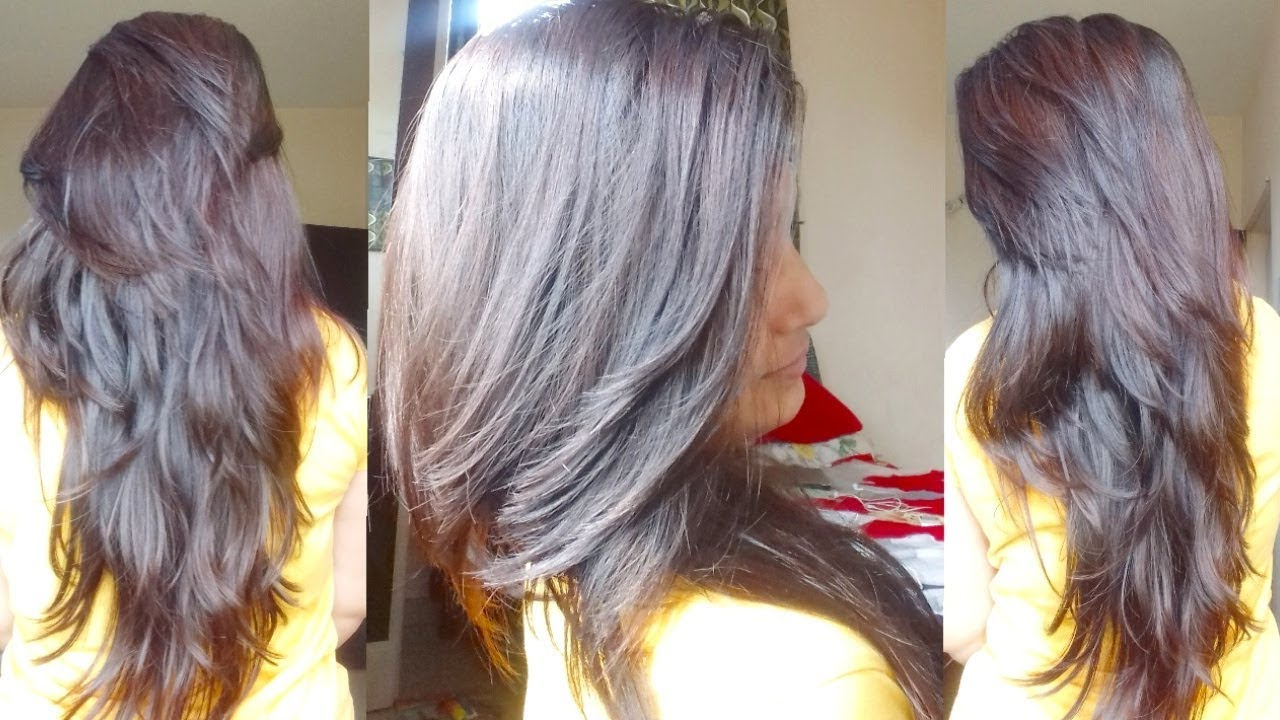 Diy Own Hair Cutting Pertaining To Famous Multi Layered Mix Long Hairstyles (View 18 of 20)