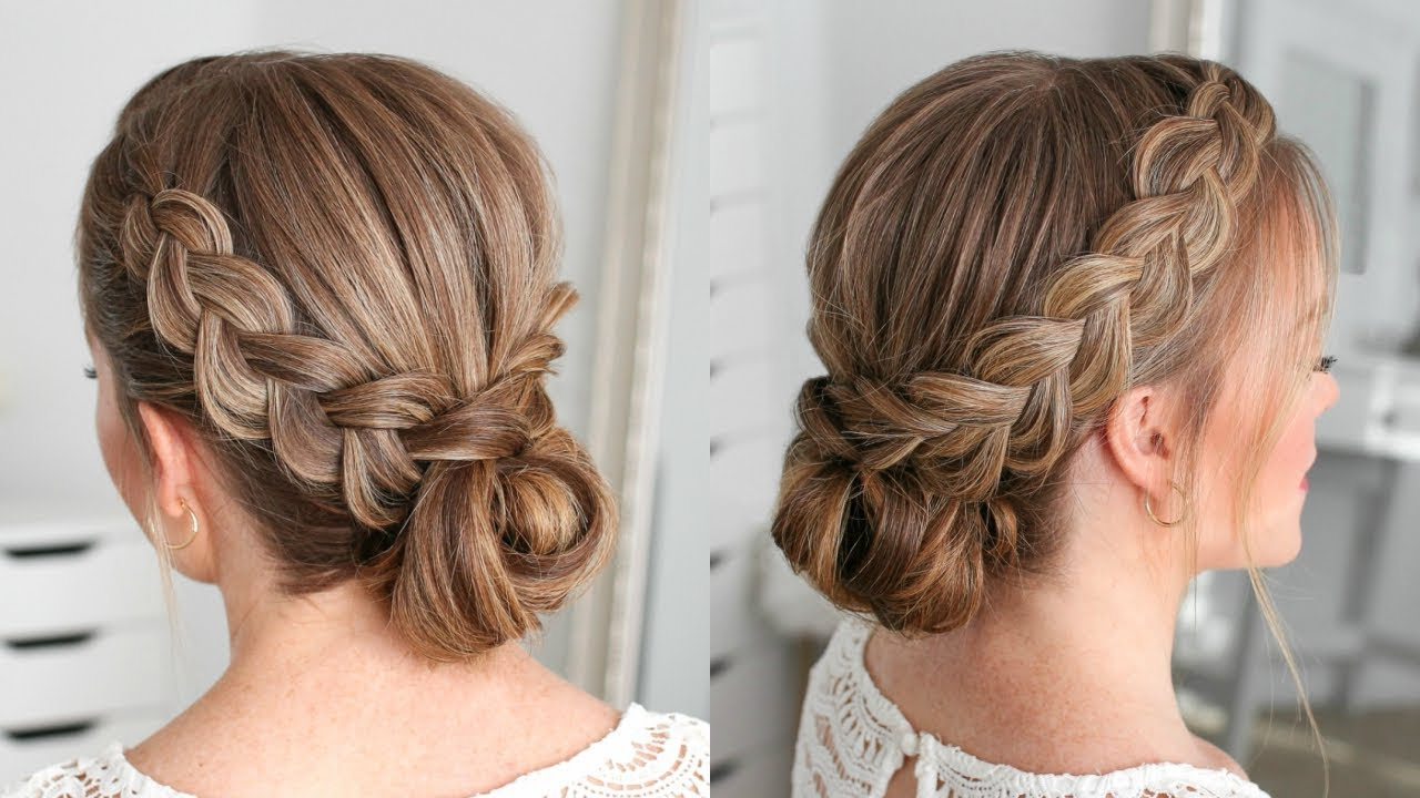 Double Dutch Braids Updo (View 6 of 20)