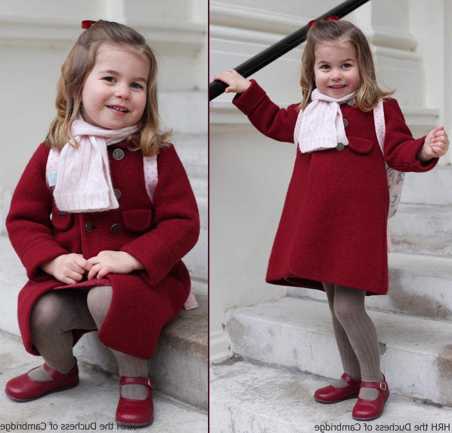 Dressed Like Princess Charlotte: Where To Buy The Same Outfits Regarding Well Known Princess Like Side Prom Downdos (View 9 of 20)