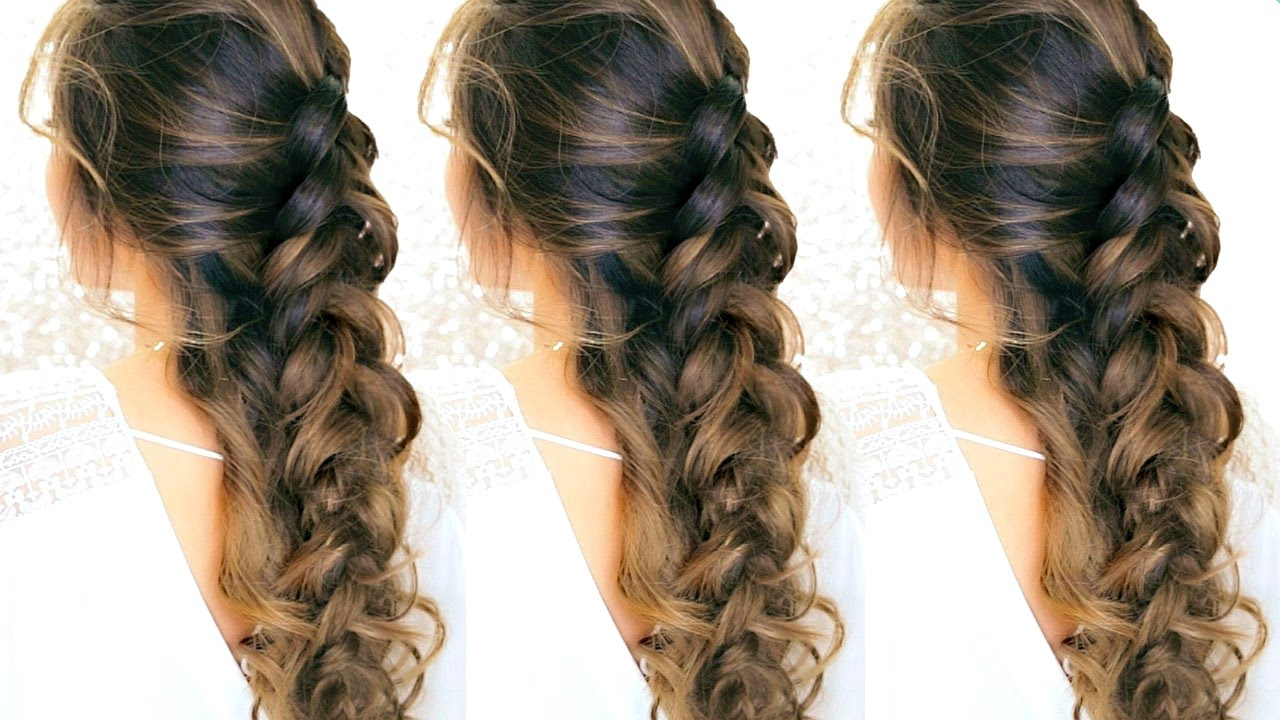 Featured Photo of Romantic Prom Updos With Braids