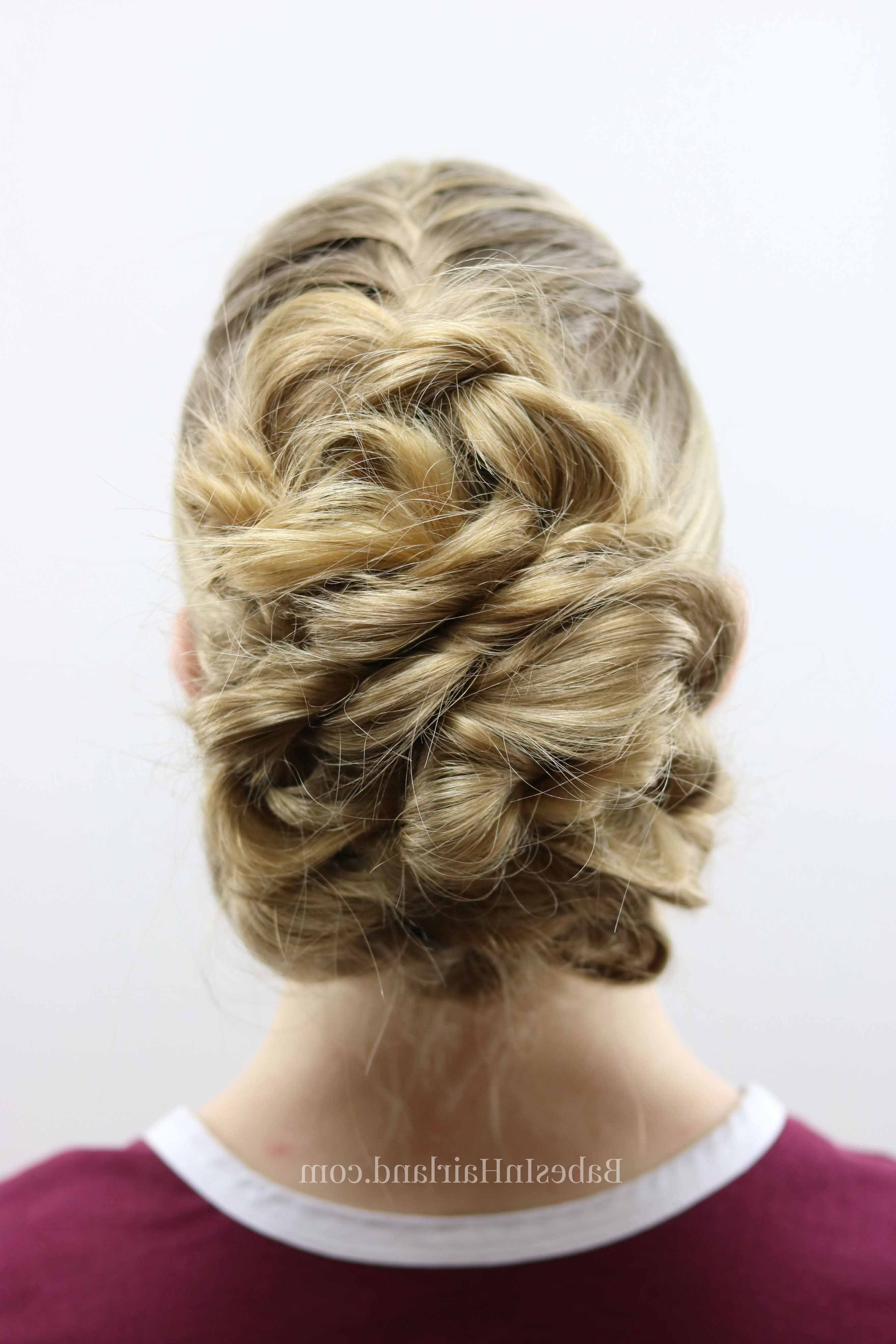 Easy Twisted Updo (View 8 of 20)