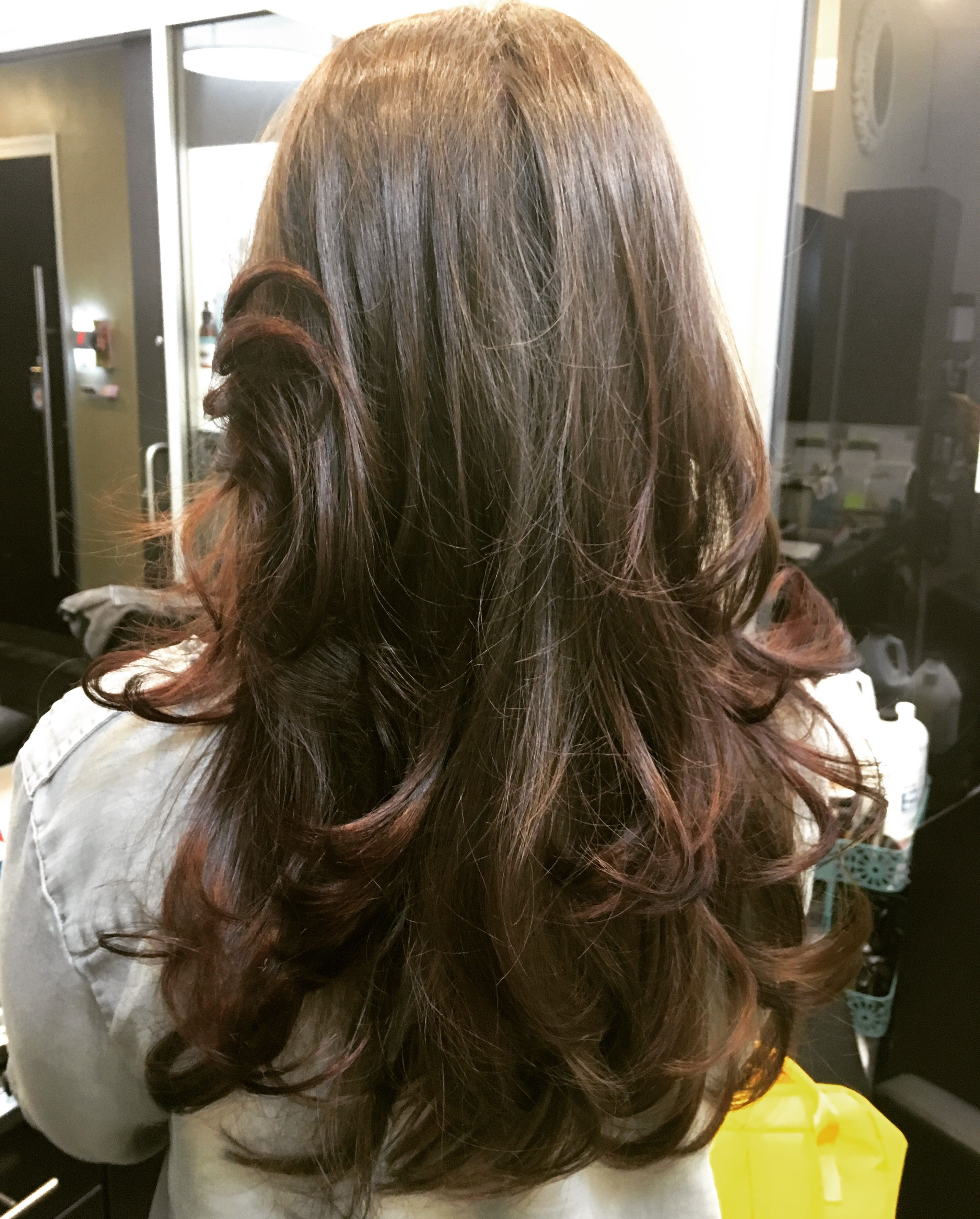 Extra Long Hair With Tons Of Layers And Angles Bouncy Blowout Inside Current Blowout Ready Layers For Long Hairstyles (View 9 of 20)