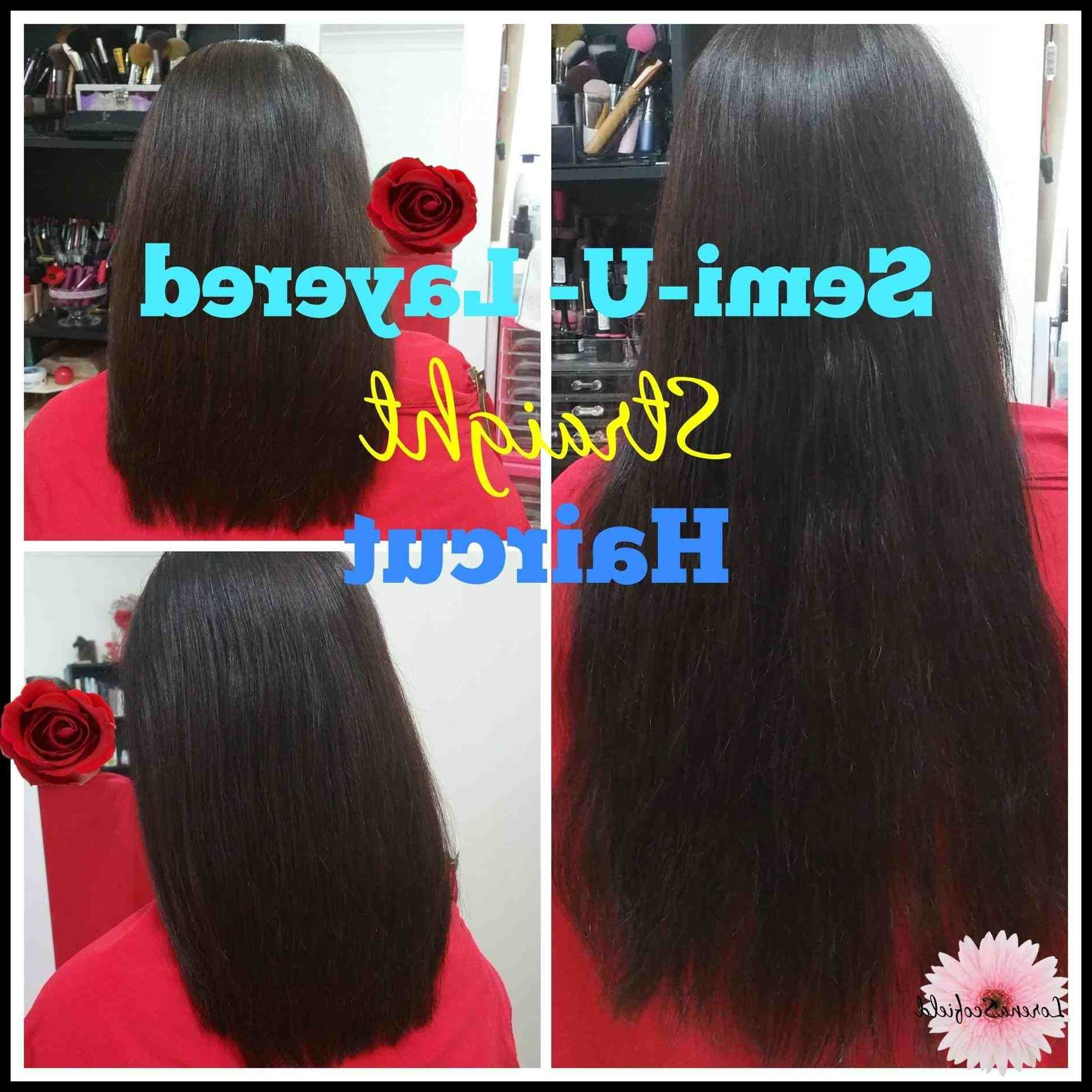 Famous Classy Layers For U Shaped Haircuts Within U Shaped Layered Haircut Back View (Gallery 16 of 20)