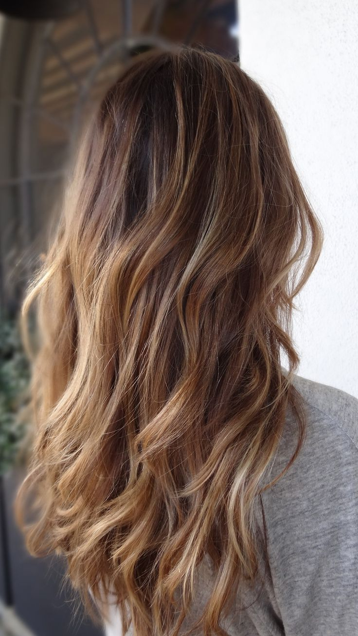 Famous Curly Golden Brown Balayage Long Hairstyles In Want Sun Kissed Hair All The Time? Loving This Gorgeous Natural (View 10 of 20)