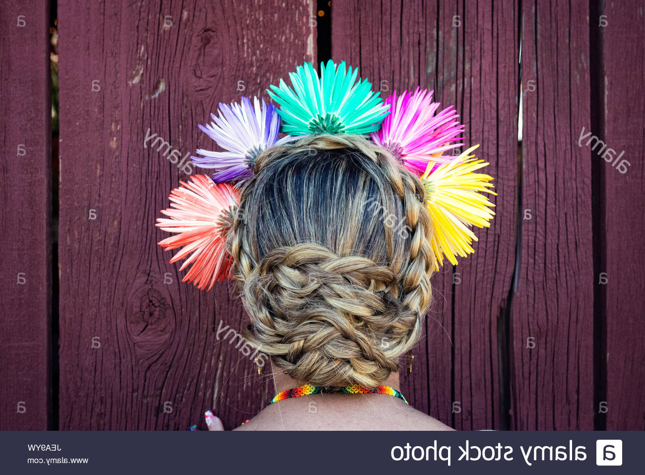 Famous Jewelled Basket Weave Prom Updos For Updo Hair Stock Photos & Updo Hair Stock Images – Alamy (Gallery 12 of 20)