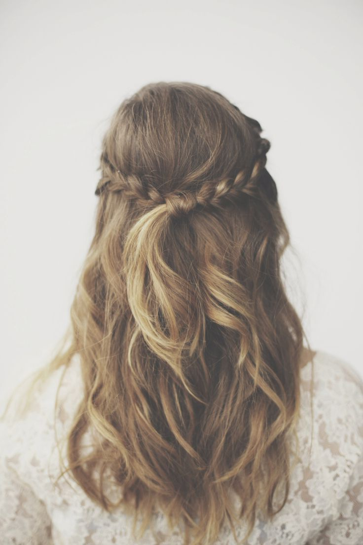 Famous Tangled Braided Crown Prom Hairstyles Inside Pretty Braided Knot (View 8 of 20)