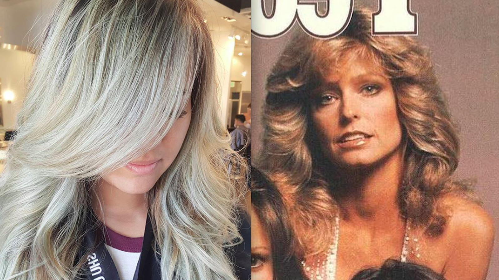 "Farrah Fawcett Hair Is Coming Back As ""chandelier Layers"" – Galore Within Preferred Farrah Fawcett Like Layers For Long Hairstyles (View 2 of 20)"