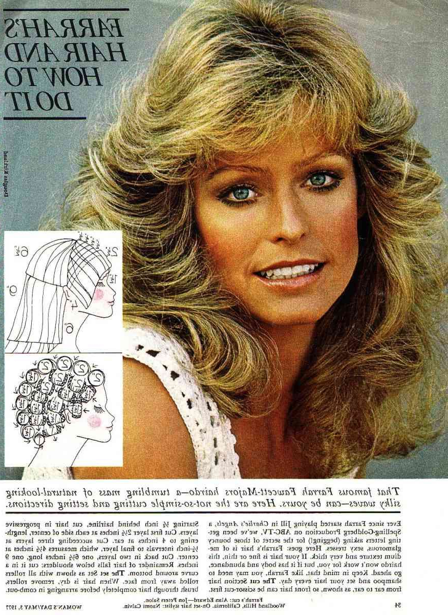 Featured Photo of Farrah Fawcett Like Layers For Long Hairstyles