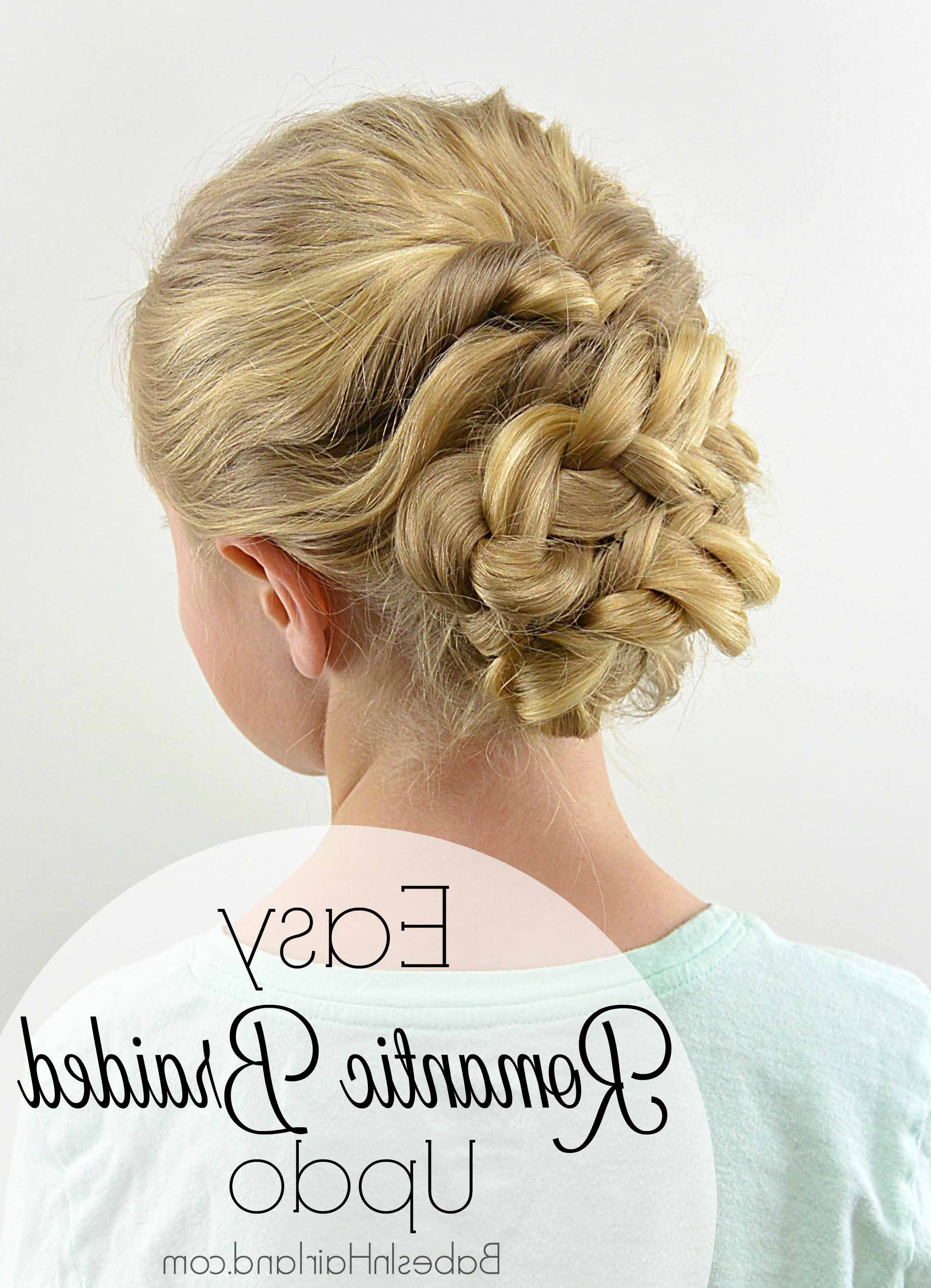 Fashionable Romantic Prom Updos With Braids Throughout Easy Romantic Braided Updo – Babes In Hairland (View 9 of 20)