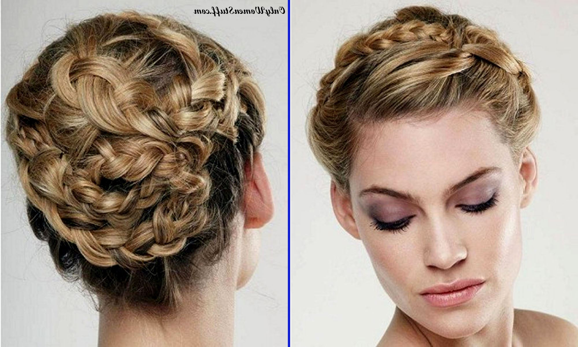 Favorite Fancy Knot Prom Hairstyles With Fashion : Most Amazing Cute Short Hair Updo Collection 50 Easy Prom (View 10 of 20)