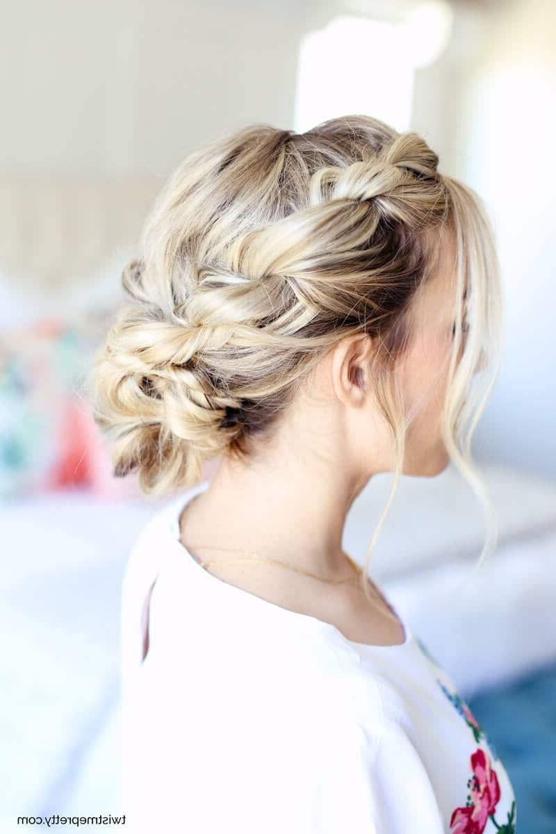 Favorite Tousled Prom Updos For Long Hair Regarding 25 Modern And Beautiful Updos For Long Hair (View 8 of 20)