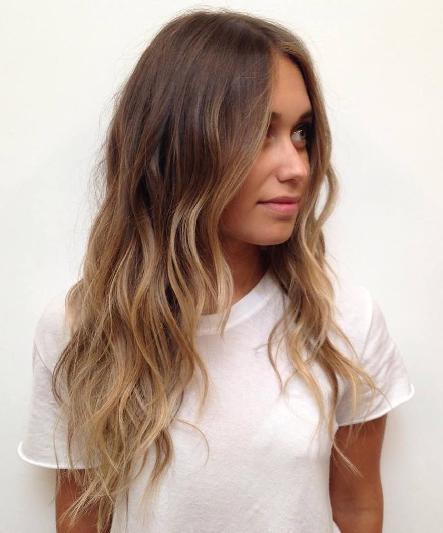 Hair Pertaining To Most Up To Date Light Layers Hairstyles Enhanced By Color (Gallery 3 of 20)