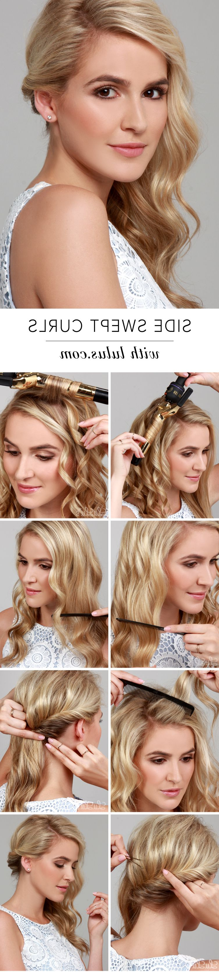 Hair Throughout Newest Long Side Swept Curls Prom Hairstyles (View 9 of 20)