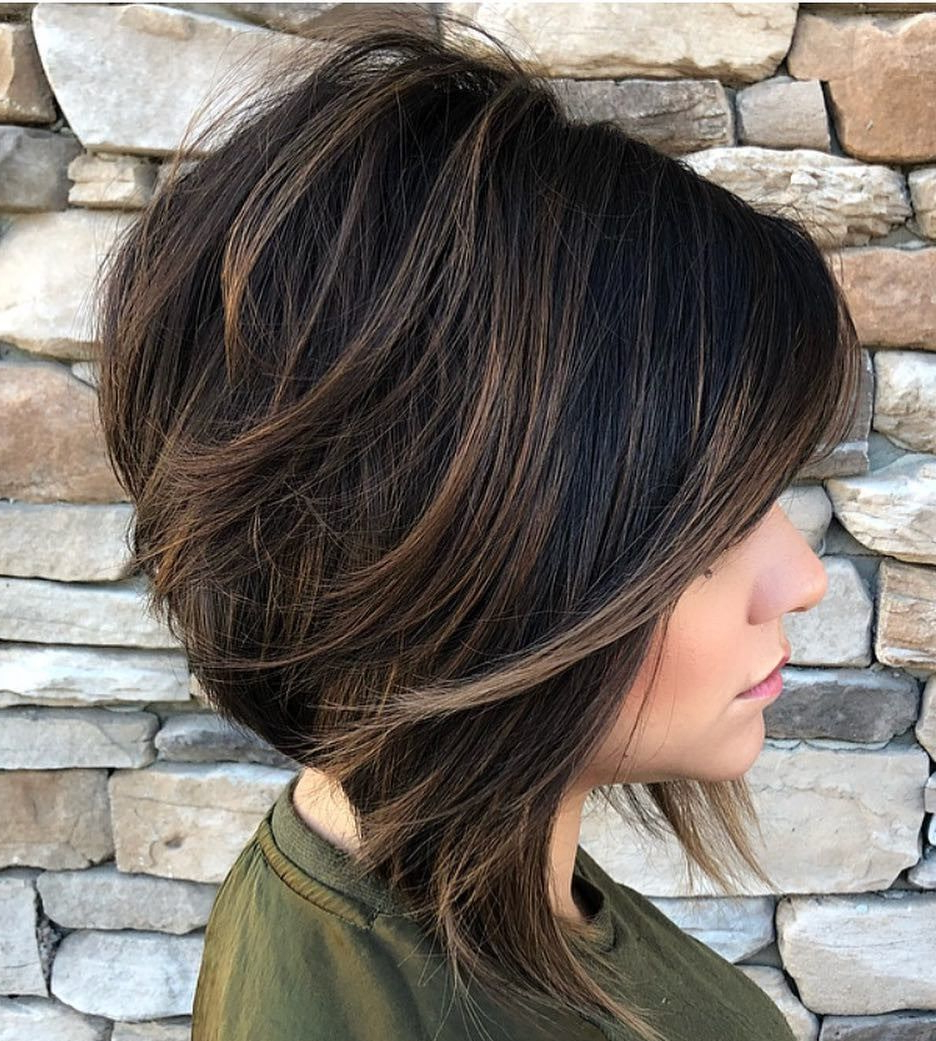 Haircut For Thick Hair With Regard To Best And Newest Long Hairstyles With Angled Swoopy Pieces (View 2 of 20)