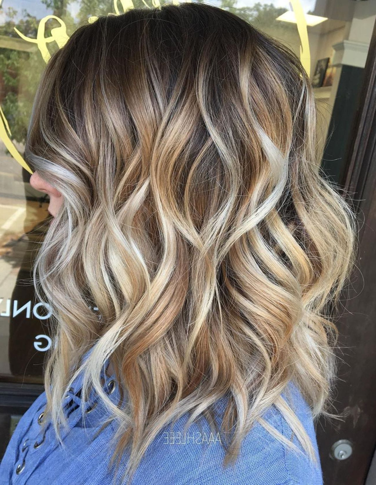 Hairstyles : Balayage For Curly Hair Super Best Golden Caramel With Most Recently Released Curly Golden Brown Balayage Long Hairstyles (View 15 of 20)